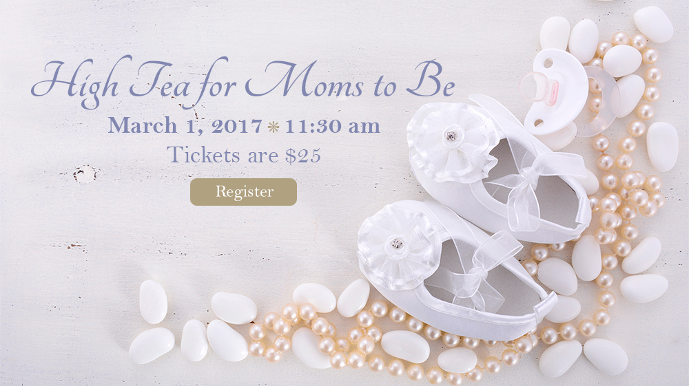 High Tea for Moms to Be